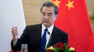 Wang Yi, ministro de Relaciones Exteriores de China. Foto: AFP