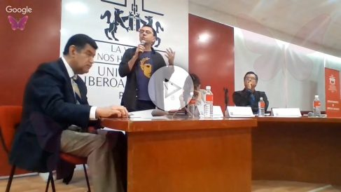 Juan Carlos Monedero en la Universidad de México.