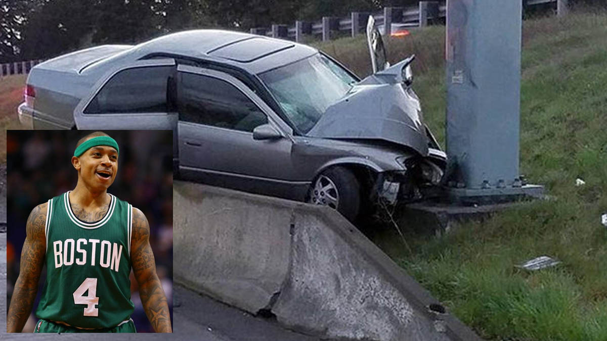 Accidente de la hermana de Isaiah Thomas.