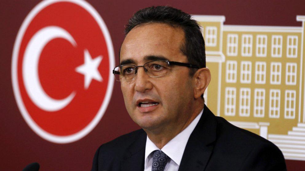 Bulent Tezcan, vicepresidente del partido opositor CHP de Turquía.