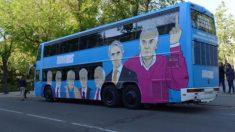 El odiobús de Podemos.