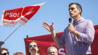 El ex secretario general del PSOE y aspirante a la reelección, Pedro Sánchez (Foto: Efe)