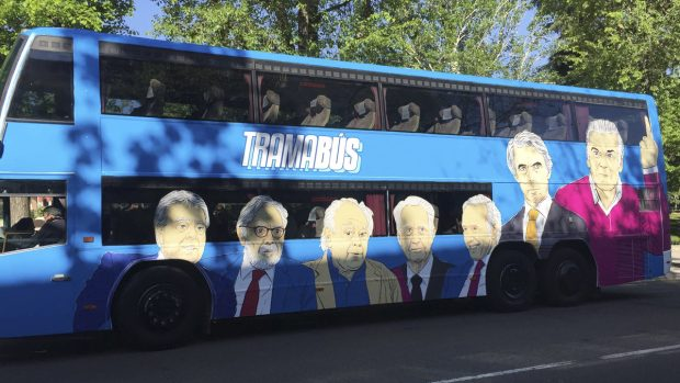 Tramabus - Autobús de Podemos
