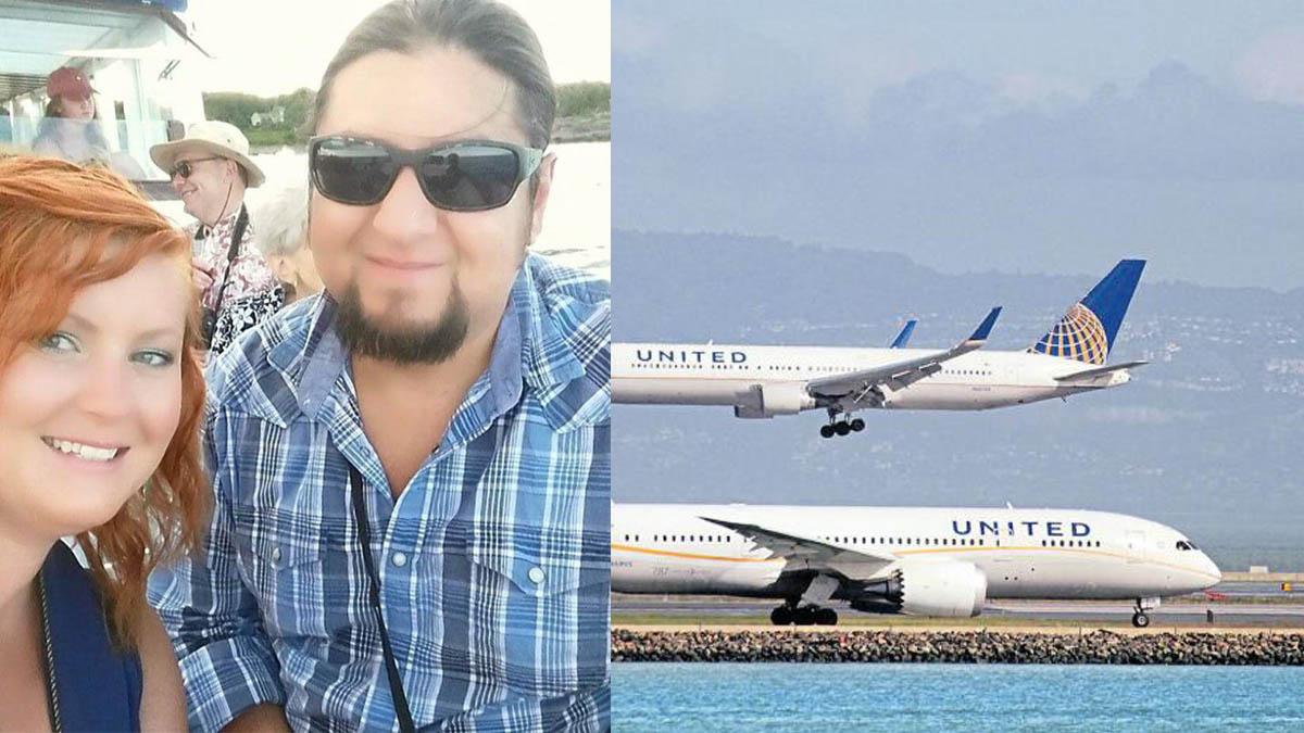 La pareja que fue expulsada de un avión de United Airlines.