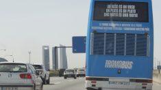 Odiobús circulando (Foto: Chema Barroso)