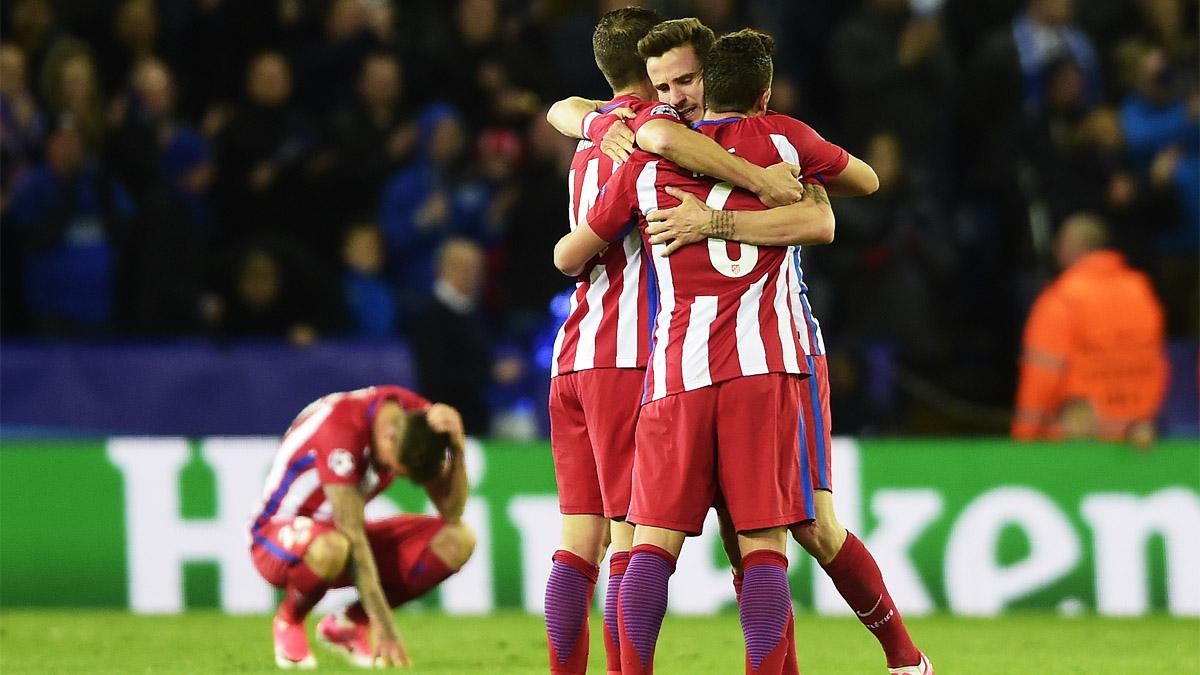 El Atlético de Madrid alcanza sus terceras semifinales en cuatro años (Foto: AFP)