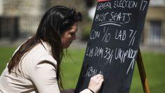 Los británicos ya han comenzado a apostar sobre quién ganará las próximas elecciones generales (AFP)
