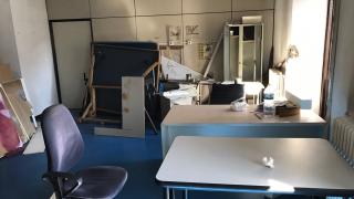 Estado de las instalaciones de los Bomberos en Madrid.