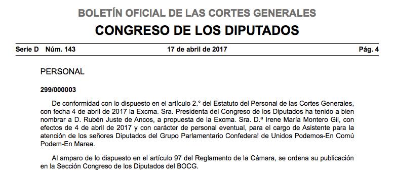 El ideólogo del 'Odiobús' ficha por Podemos y cobrará un sueldo público de 1.897€ al mes