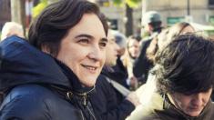 La alcaldesa Ada Colau y la concejal Gala Pin (Foto. Flickr)