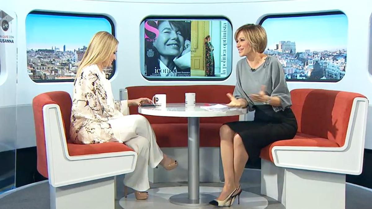 Cristina Cifuentes en 'Espejo Público'.
