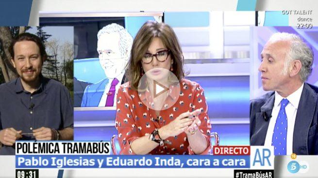 "Inda a Iglesias: ""Si me pasa algo, tú serás el responsable por ponerme en la diana"""