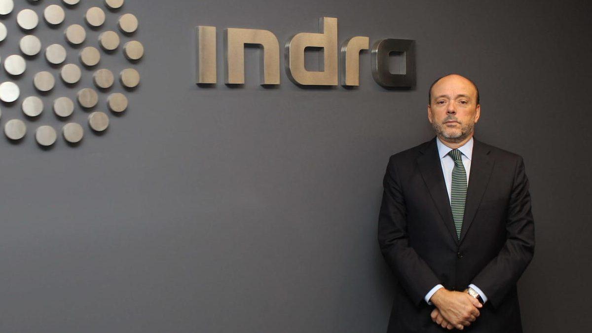 Javier Monzón, en su etapa de presidente de Indra.