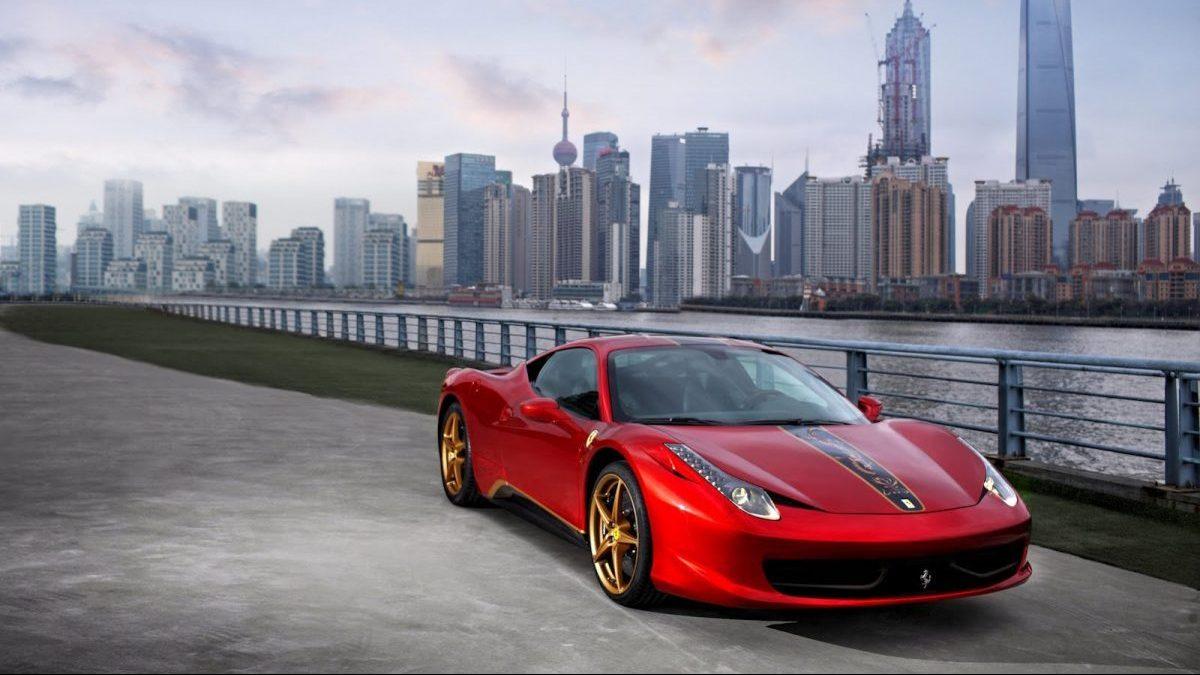 Coches Ferrari en una edición especial en China (Foto: Ferrari)