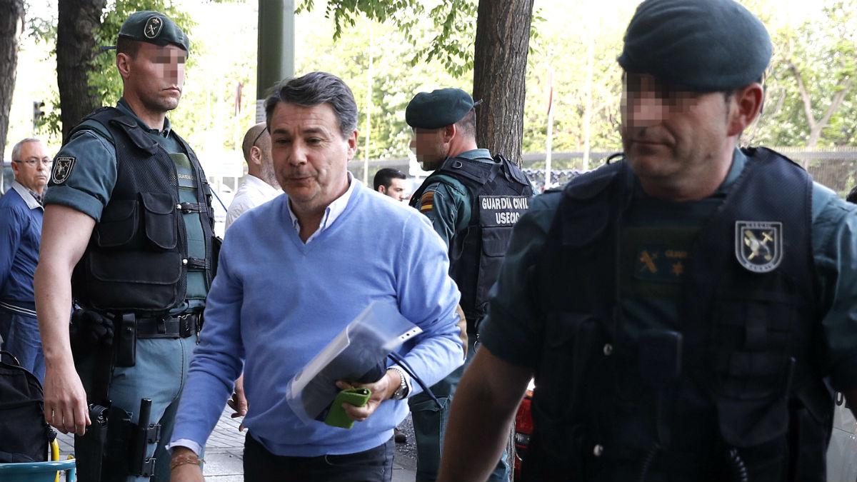 Ignacio González, el día de su detención en la 'operación Lezo'. (Foto: EFE)