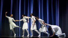 Un fotograma de la producción de danza Oskara