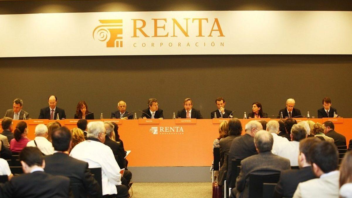 Renta Corporación, en una Junta General de Accionistas.