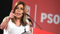 La candidata a las primarias del PSOE, Susana Díaz (Foto: Efe)