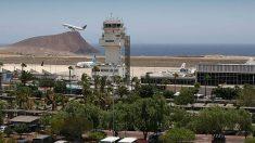 Aeropuerto de Tenerife.