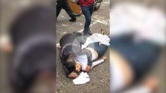 El cuerpo de la joven asesinada por colectivos chavistas en San Cristobal