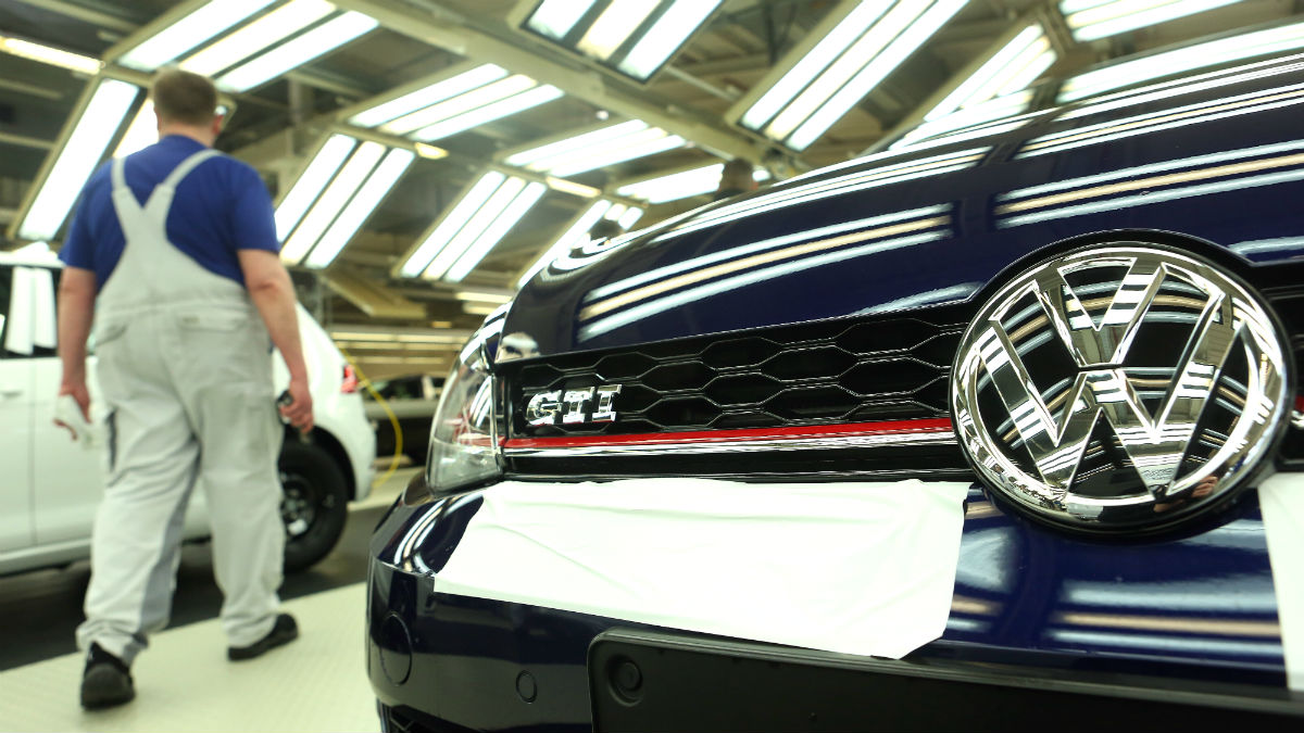 Planta de Volkswagen en Wolfsburgo (Foto: GETTY).