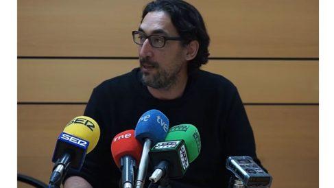 Luis Bermejo, este jueves, en rueda de prensa.