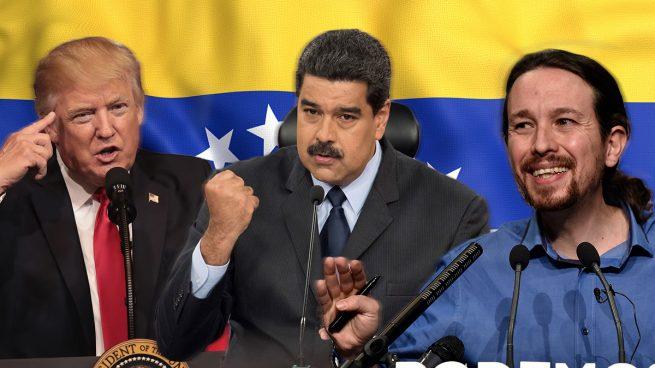 Trump se financia como Podemos: el Gobierno de Maduro donó 500.000$ para su investidura