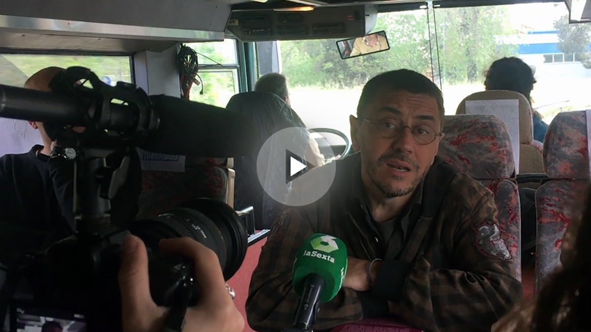 Juan Carlos Monedero en el Tramabús