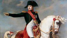 La vida de Napoleón, el emperador de Francia.