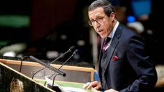 Omar Hilal, embajador de Marruecos ante la ONU.