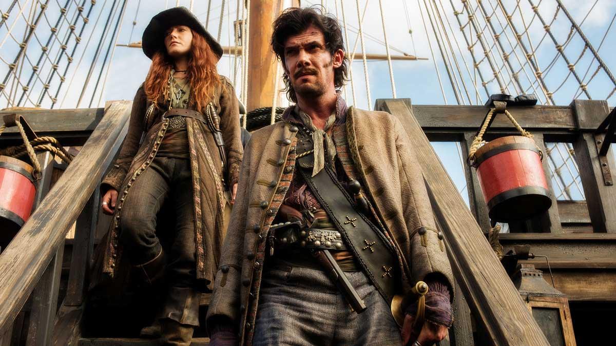 Pirata Jack Rackham en Black Sails