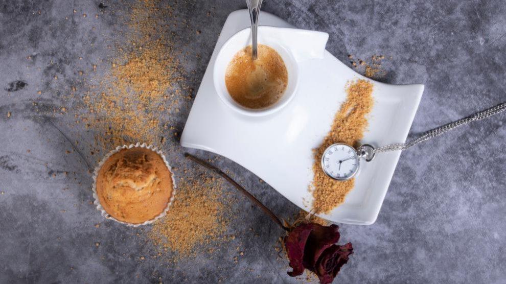 Receta de Magdalenas de café
