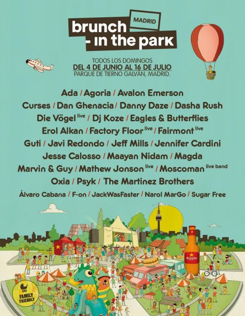 Cartel de la nueva edición de Brunch -In The Park Madrid