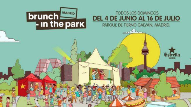 Brunch -In the Park Madrid anuncia siete nuevas fechas en junio y julio en el partque Enrique Tierno Galván.