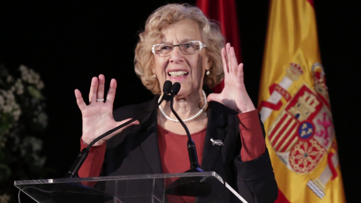 La regidora de la capital, Manuela Carmena. (Foto: Madrid)