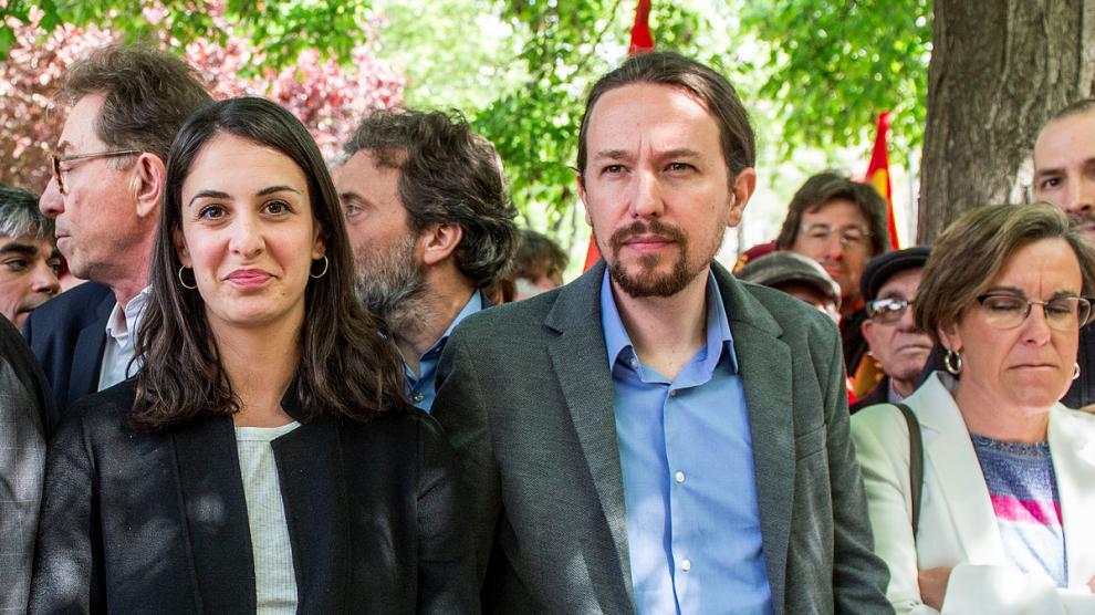 Rita Maestre junto a Pablo Iglesias. (Foto: Flickr)