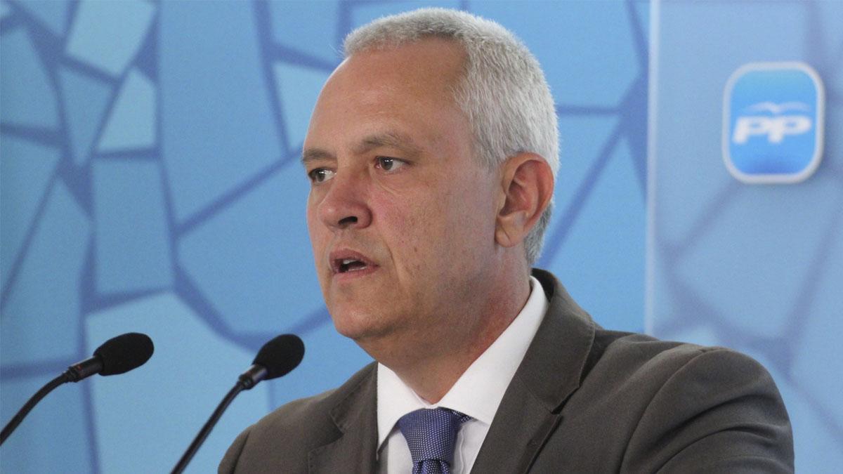 Santi Rodriguez, secretario general del PP catalán.