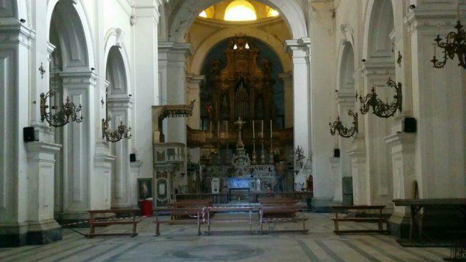 Iglesia de Santiago de los Españoles en Nápoles (Ana Domínguez)