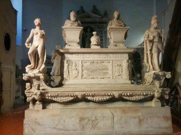 Monumento funerario de don Pedro de Toledo (Ana Domínguez)