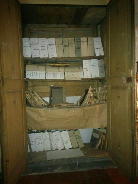 Archivo del virreinato español de Nápoles (Ana Domínguez)