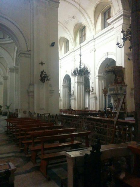 Situación de la Iglesia de Santiago de los Españoles en Nápoles (Ana Domínguez)