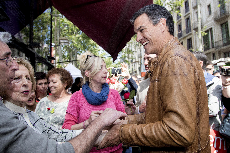 Pedro Sánchez, candidato a las primarias del PSOE.