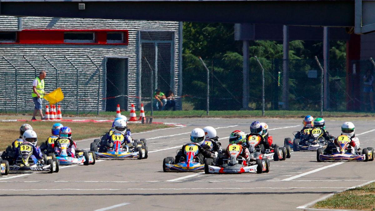 Imagen de archivo del campeonato de Asturias de karts. (FOTO: fapaonline.es)