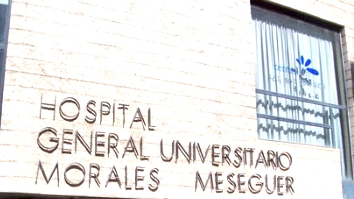 Hospital en el que fue ingresada la menor.