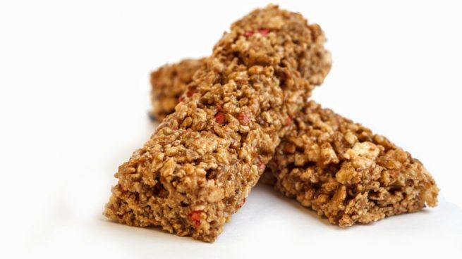 Recetas de barritas de cereal saludables