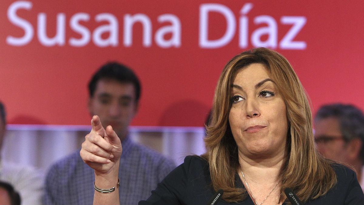 Susana Díaz, aspirante al líder del PSOE (Foto: Efe)