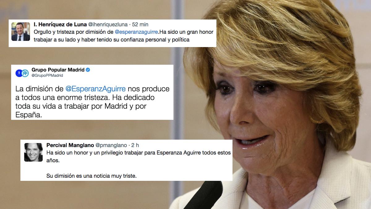 Tuits de Aguirre. (Foto: EFE)