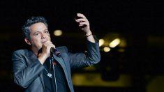Alejandro Sanz durante un concierto (Foto: Getty)
