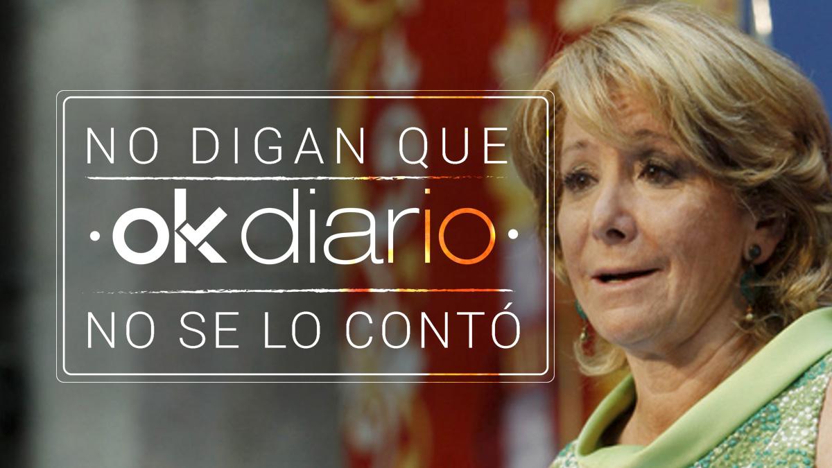 OKDIARIO adelantó la dimisión de Aguirre