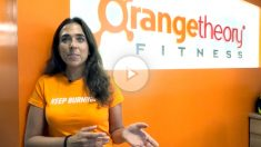 Beatriz Pedregal, studio manager de The Orange Theory, nos explica cómo funciona el gimnasio.